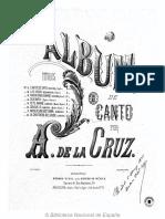 A. de La Cruz Album de Canto2