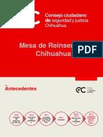 LAURA GARCIA-Presentación Mesa de Reinserción Social Chihuahua