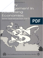 Liquidity Management in Liberalising Economies