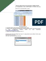 Membuat Kontur Dari Data Koordinat Excel Menggunakan Aplikasi Surfer