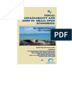 Fiscal Sustainability and Debt in Small Open Economies an Application to TheCaribbean