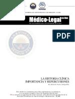 Historia Clinica Importancia y Manejo
