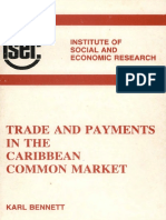Trade and Payments in the Caribbean Common Market