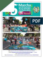 Éxito, Durante LA 6ta Marcha Pro Derechos Animales & Naturaleza - Guatemala 2016.   Domingo 6 Marzo.
