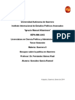 Elecciones de Continuidad y Elecciones de Cambio en Guerrero