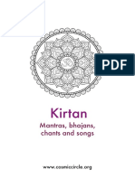 Kirtan Book (by Cosmic Circle)