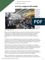 26/10/16 Aprueban Nueva Ley Congreso Del Estado - Canal Sonora