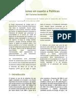 GTI-DTS Recomendaciones de Politicas ESP