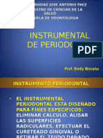 Instrumental de Periodoncia. Emi
