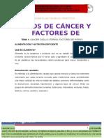 Rotafolio Tipos de Cancer y Factores de Riesgo Resumido