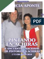 PINTANDO EN ACHIRAS_Por Patricia Aponte