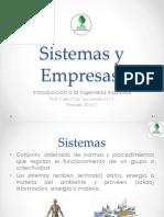 Sistemas y Empresas. Intro. a La Ing. (2)