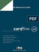 CardFive Brochure