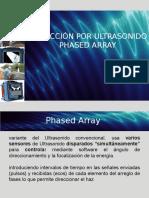 phased array ultrasonido