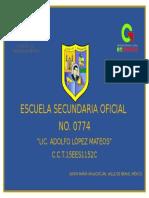 Banderin Escuela