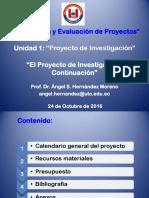 El Proyecto de Investigacion-III