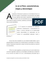 Biocomercio en El Perú