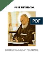 Exhortaciones San Pío de Pietrelcina