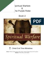 Spiritual Warfare the Purple Robe Book 2