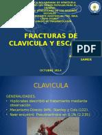 Fracturas de Clavicula y Escapula