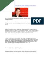 Motivator Terbaik IPPHO SANTOSA, Motivator Indonesia Terkenal Di Perusahaan