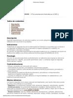 Medicamento Cabergolina 2016