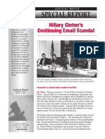 Hillary Clintons Continuing Email Scandal PDF Revised