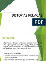 DISTOPIAS PELVICAS