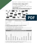 Evaluación de Matemática Tablas y Gráficos