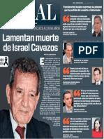 06-11-16 Lamentan muerte de Israel Cavazos