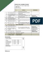 Osh - Lesson Plan Sept 2015 Wani