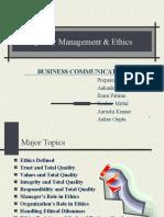 Qualitymanagementethics