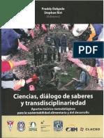 Ciencias Diálogo de Saberes y Transdisciplinariedad 1