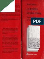 La Republica Socialista Chilena. Origenes Legitimos del PSCh.- Manuel Dinamarca.