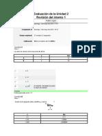 Evaluación de La Unidad 2