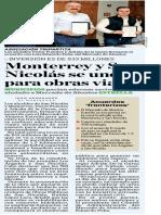 07-11-16 Monterrey y San Nicolás se unen para obras viales