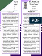 Indicaciones Post Quirurgicas