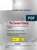 1.04 Volume and Density