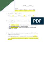 pilot worksheet 3
