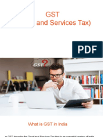 Overview of Gst (goods and services tax)