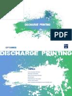 Discharge Printing
