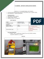 Nasuuti Ka1258 General Battery Installation Report