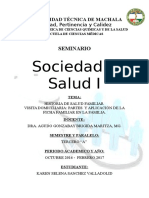 Historia de Salud Familiar
