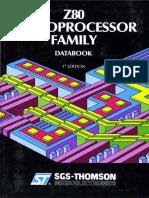 Z80 Microprocessor Family Jan90