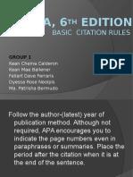 APA, 6th Edition