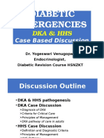 Diabetic Emergencies Case Studies