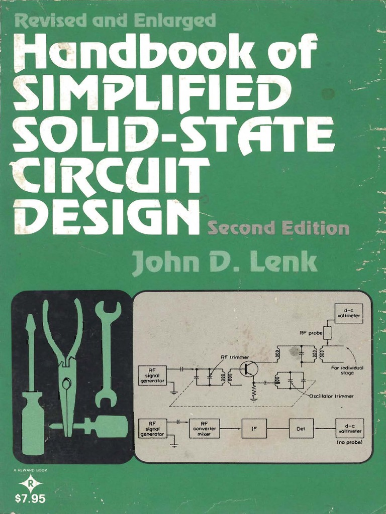 Handbook Of Simplified Solid State Design Lenk J 1978 Amplifier Linear Potentiometer Wiring Cr4 Thread A Pot For Operational