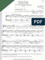 Hermit Songs (High Key)