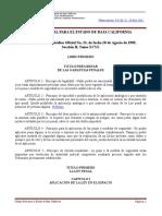 Código Penal Para el Estado de Baja California