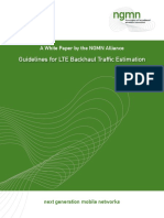Cisco-LTE-Dimensioning Transport-NGMN Whitepaper Guideline for LTE Backhaul Traffic Estimation